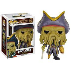 Pirates of the Caribbean Davy Jones Pop! Vinyl Figure - Funko - Pirates of the Caribbean - Pop! Vinyl Figures at Entertainment Earth