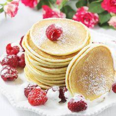 Placki | AniaGotuje.pl Panna Cotta, Pancakes, Deserts, Dinner, Breakfast, Ethnic Recipes, Food, Dining, Breakfast Cafe