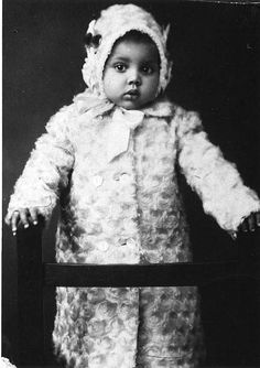 c.1900 Little African American girl