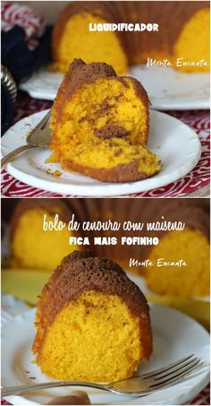 Sweet Recipes, Cake Recipes, Loaf Cake, Portuguese Recipes, Sweet Bread, Yummy Cakes, Banana Bread, Food And Drink, Yummy Food