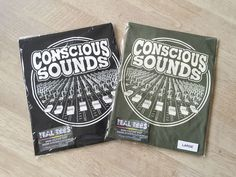 Official Exclusive Ital Tees Conscious Sounds Design on Heavyweight Cotton