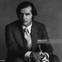 Portrait of American actor Jack Nicholson, New York, New York, January 1970.