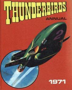 Thunderbirds Annual 1971. #Thunderbirds #Annual