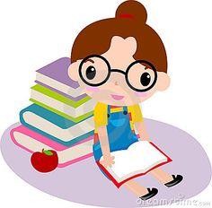 cute-girl-reading-book-13981149.jpg (400×394)