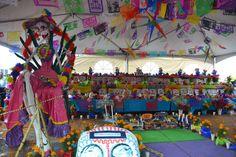 Día de muertos Mega ofrenda - Zocalo de la ciudad de México 2013   Flickr - Photo Sharing!