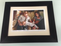 Preserve those special moments with u.v. Glass and archival matting and backing.