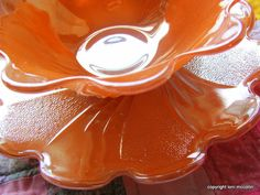 Vintage 1960's Fire King Peach Lustre by besobesoboutique on Etsy, $14.00