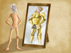 El Quijote en imágenes comentadas | Plasmaciones y representaciones visuales del universo quijotesco. Elaborado por alumnos de 1.º bach. y 3.º ESO del ins. Ramon Coll i Rodés (Lloret de Mar) | Pàgina 2