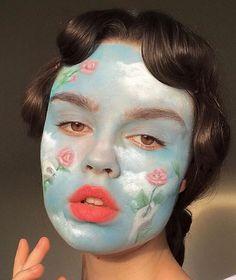 Nadia Super creative makeup looks that people love. See more ideas about Makeup, Creative makeup and Makeup Goals, Makeup Inspo, Makeup Inspiration, Nude Make Up, Art Visage, Eye Makeup, Hair Makeup, Extreme Makeup, Creative Makeup Looks
