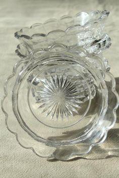 Sincere Antique Milk Glass Fleur De Lis Decanter Antiques