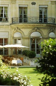 maison de l'amérique latine's restaurant, paris