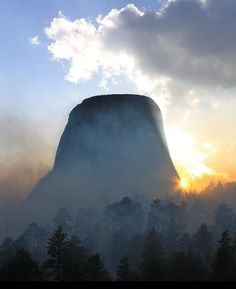 Devil's Tower, Wyoming, U S A