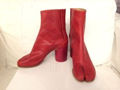 Maison Margiela Tabi Boots - Red AIvsyP2