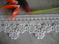 Flor em Crochê - / Flower Crochet - 2