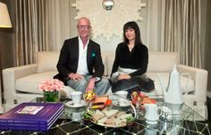 Claudia Juestel sits down for tea in San Francisco with internationally esteemed designer Jamie Drake. Jamie Drake, Tea, Table Decorations, San Francisco, Design, Teas, Dinner Table Decorations