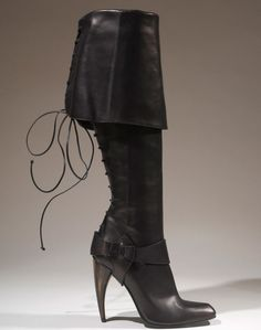A boot from Alexander McQueen's spring 2013 collection