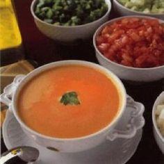 Real Spanish Gazpacho From Spain Recipe - Genius Kitchen Best Spanish Food, My Recipes, Favorite Recipes, Portuguese Recipes, Spanish Recipes, Soups And Stews, Love Food, Food Processor Recipes, Bon Appetit