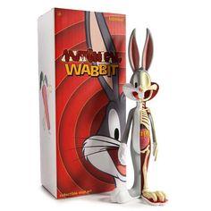Anatomical Wabbit #BugsBunny #LooneyTunes #WB