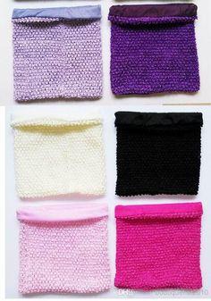 fec7f864e8 10x12 inches Large size lined Crochet tube top lined tutu tops for girls   tutu dress crochet pettiskirt tutu tops 50pcs per lot
