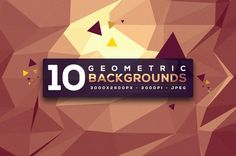 10 Free High Res Geometric Backgrounds