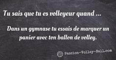 Dans la série tu sais que tu es volleyeur il y a … Découvrez encore plus de situation que vous connaissez en temps que volleyeur.