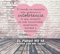 #frases de #amor y #familia www.familias.com