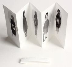 Art Zine - Zine Mini - livre à la main. Cinq dames chat tchécoslovaque.