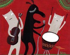 cat drums album art - Google Search