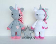 unicorn crochet pattern unicorn pattern crochet par SweetOddityArt