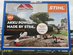 1115. - Plakat in Stockach. / 14.04.2014./