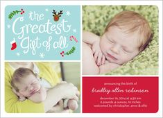 The Greatest Gift 5x7 Stationery Card by Stacy Claire Boyd | Shutterfly