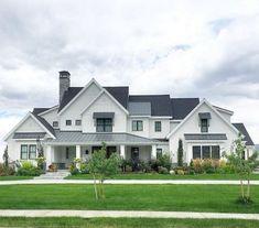 70 Gorgeous Modern Farmhouse Exterior Design Ideas