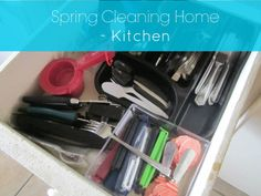 Spring Cleaning Home- Kitchen http://cityofcreativedreams.blogspot.ca/2014/04/spring-cleaning-home-kitchen.html