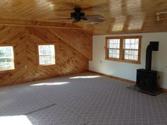 2 Car Garage with Bonus Room has 2 shed dormers to make room ...