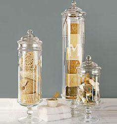 Find This Pin And More On Home Decor I Love. Our PB Classic Glass Apothecary  Jars ...
