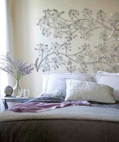 Over the bed decor on pinterest modern art paintings - Over bed art ideas ...