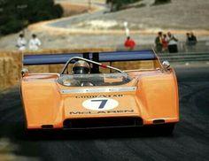 Peter Revson : 1971 Can-Am Champion Car: McLaren-Chevrolet M8F Entrant : McLaren Cars Ltd. (ph: © P. Lyon via vintageracecar.com)