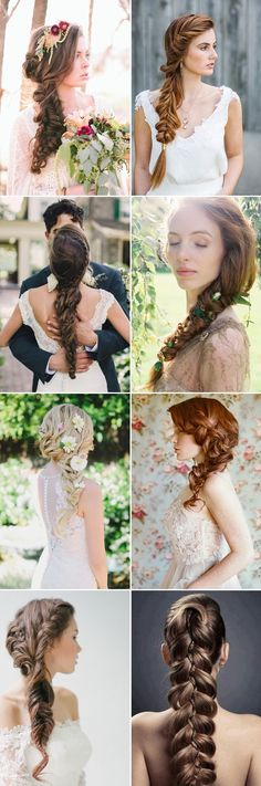 17 Jaw Dropping Bridal Braids We Adore - Long Braids