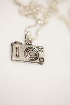 Camera pendant in ball chain