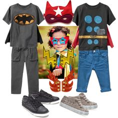 """""""Super Hero's Super Style"""" by boysbecool on Polyvore"""