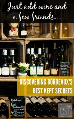Discover one of Bordeaux, in France's, best kept secrets. This city and region of wine and cheese is one of the world's great places to travel to for the epicurious.