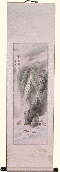 Oriental Furnishings - Oriental Silk Scroll: Agra Falls, $49.00 (http://www.orientalfurnishings.com/oriental-silk-scroll-agra-falls/)