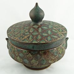Ceramic Tureen/Serving Casserole Dish by Peter Karner