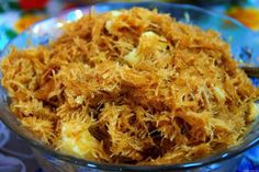Ingredients: Vermicelli Noodles (Seviyan), preferably thin ones – Cup Water– 1 Cup Sugar – around cup or adjust according to your taste Green cardamom powder (Chhoti elaichi) – ½ tsp Raisi… Vermicelli Recipes, Vermicelli Noodles, Creamed Asparagus, Eid Food, Urdu Recipe, Cooking Recipes, Healthy Recipes, Kebab Recipes