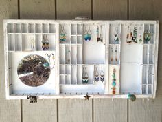 Custom Order Letterpress Jewelry Hanger