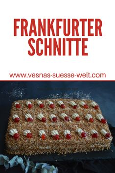 Deutsche Desserts, German Desserts, Cakes And More, Bread, Recipes, Food, Cupcakes, Vegan Cake, Gooseberry Pie
