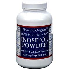 Healthy Origins Inositol Powder - 600 mg - 8 oz