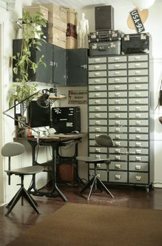 ✿   etsy bluefolkhome says ✿:I think I would be very productive in this work space - how about you?  :)