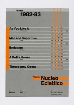 Zurich, Typography exhibition, Wolfgang Weingart