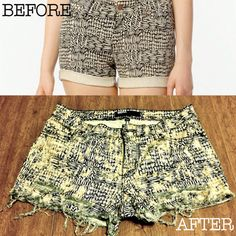 Urban Outfitters (<3) BDG printed 5 pocket shorties trend refresh